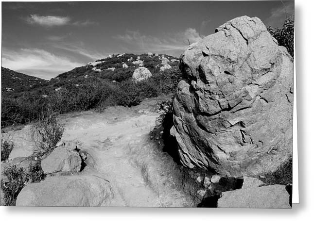Cowles Mtn Greeting Card