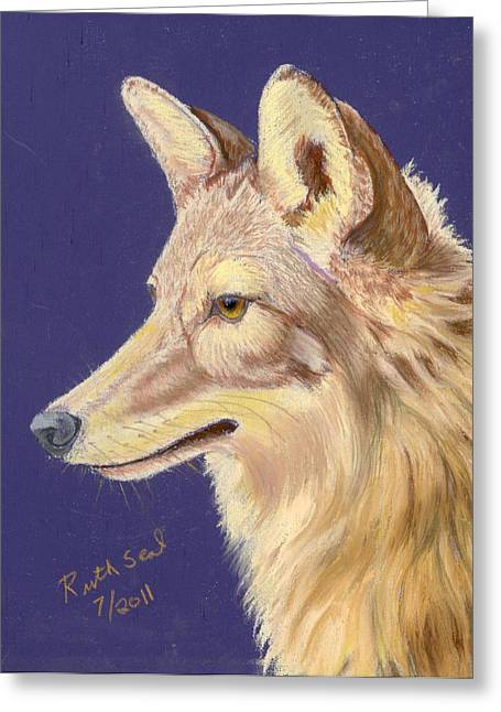 Coyote 2 Greeting Card