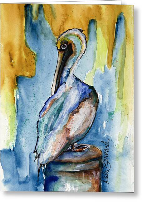 Cozumel Pelican  Greeting Card