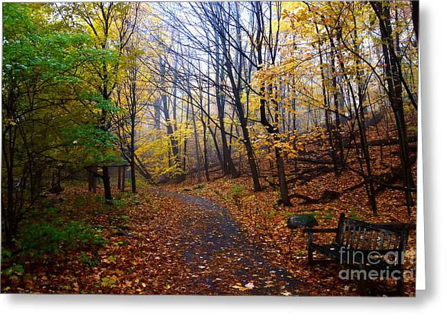 Greeting Card featuring the photograph Cozy Fall Corner by Jacqueline Athmann