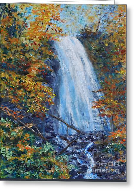 Crab Apple Falls Greeting Card