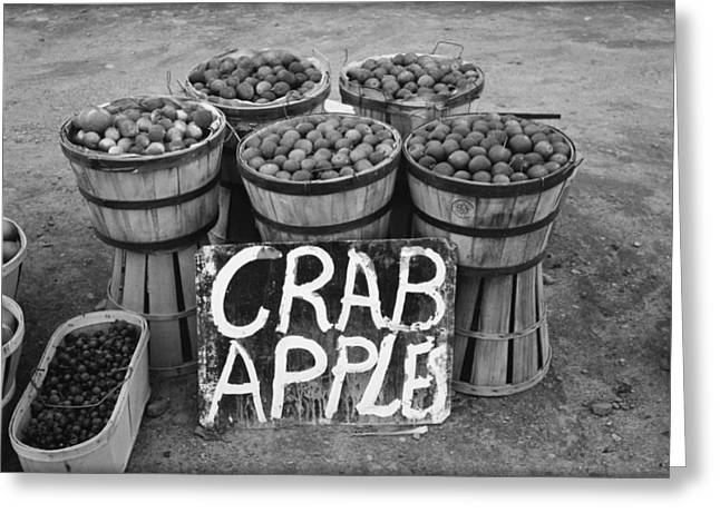 Crab Apples Greeting Card by Bill Cannon