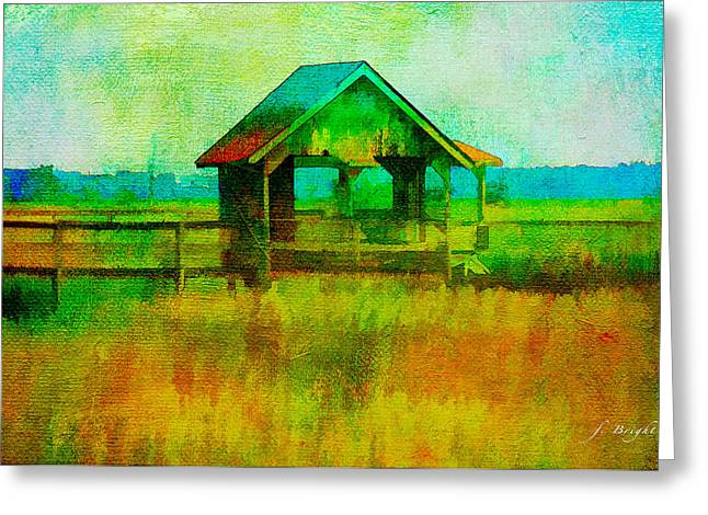 Crab Shack Pawleys Island Greeting Card