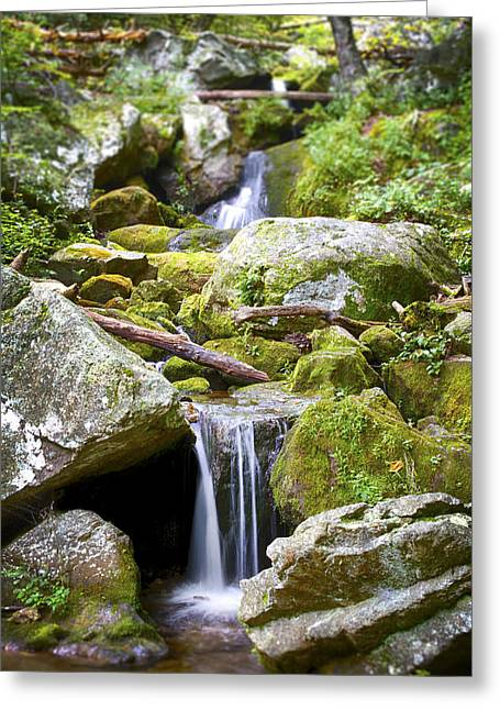 Crabtree Falls Greeting Card