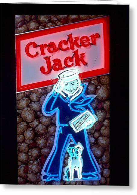 Cracker Jack Greeting Card by Pacifico Palumbo