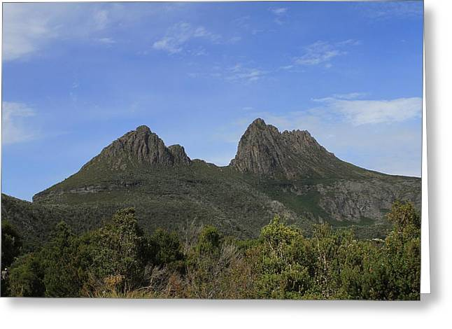 Cradle Mountain Tasmania All Profits Go To Hospice Of The Calumet Area Greeting Card
