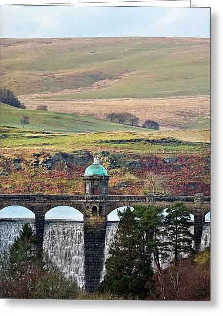 Craig Goch Dam Greeting Card by Linda Wright