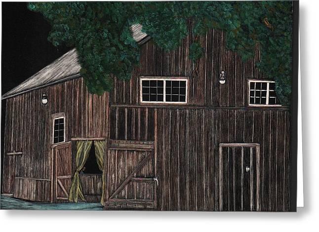 Crane  Barn Greeting Card