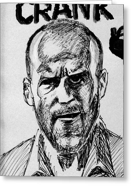 Jason Statham Greeting Card by Salman Ravish