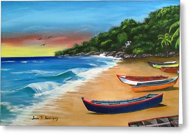 Crashboat Beach Wonder Greeting Card