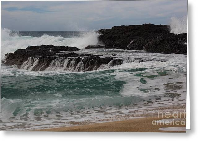 Crashing Surf Greeting Card