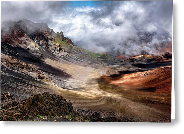 Craters Edge Greeting Card