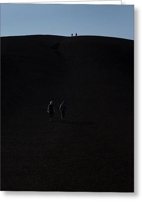 Craters Of The Moon Volcanic Cone Greeting Card