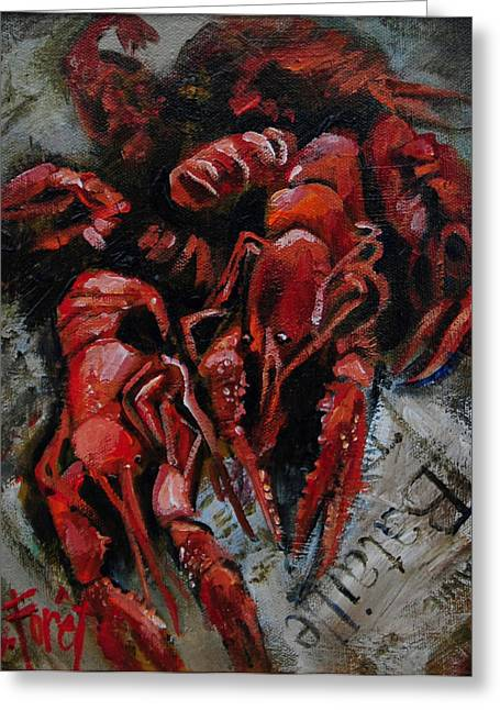 Crawdaddies Greeting Card