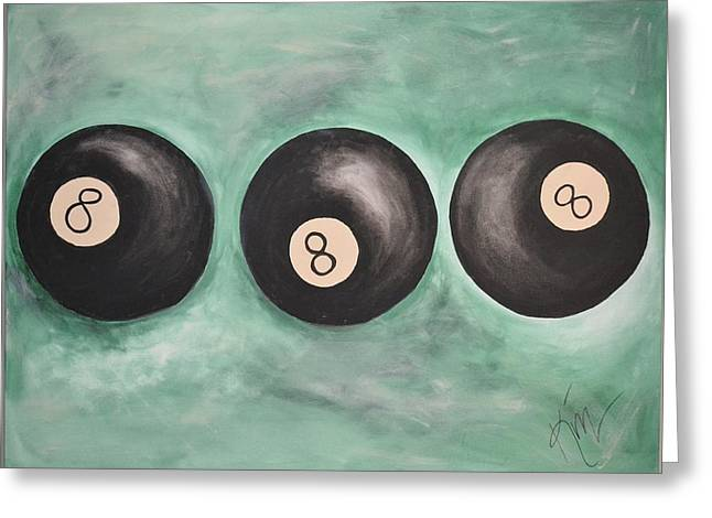 8 ball greeting cards page 4 of 7 fine art america crazy eight greeting card m4hsunfo