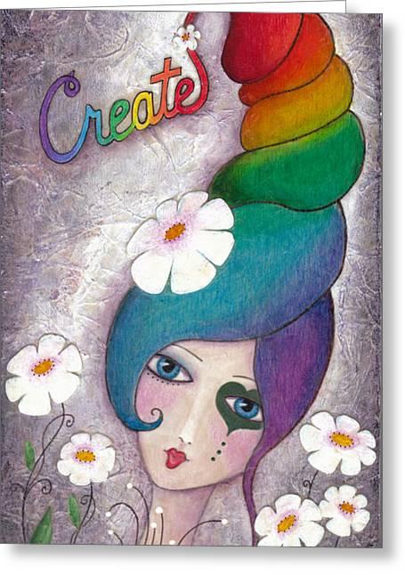 Create Greeting Card by Joann Loftus