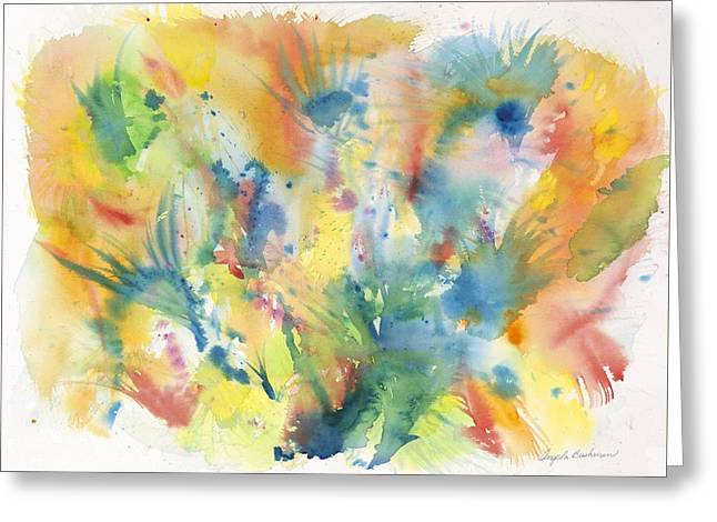 Creative Expression Greeting Card