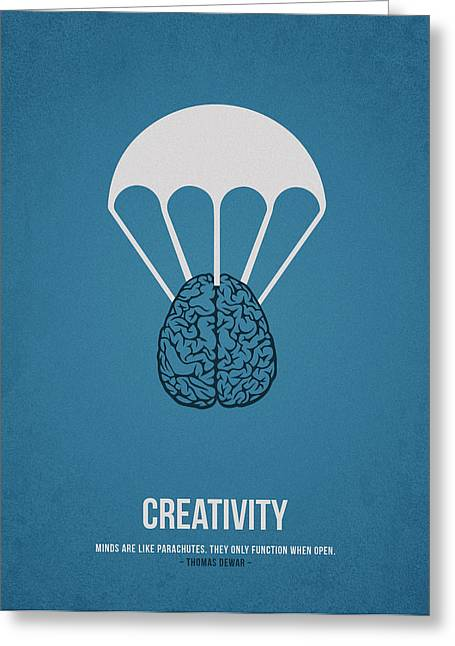 Creativity Greeting Card by Aged Pixel