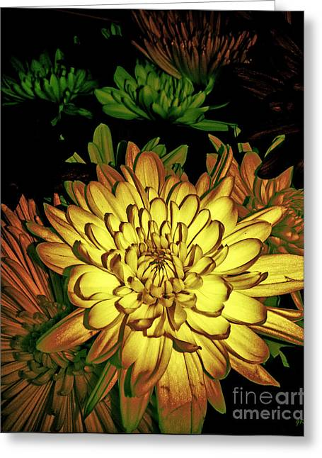 Greeting Card featuring the photograph Creme De La Creme by Gerlinde Keating - Galleria GK Keating Associates Inc