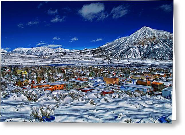 Crested Butte Colorado Greeting Card by Mountain Dreams