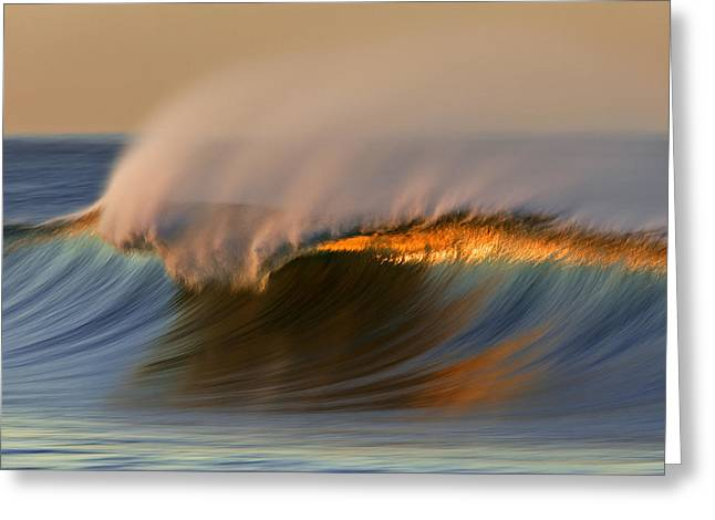 Cresting Wave Mg_0372 Greeting Card