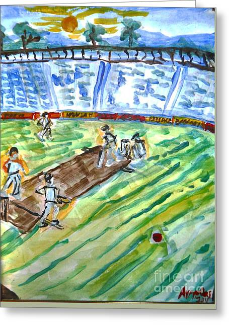 Cricket-day Greeting Card