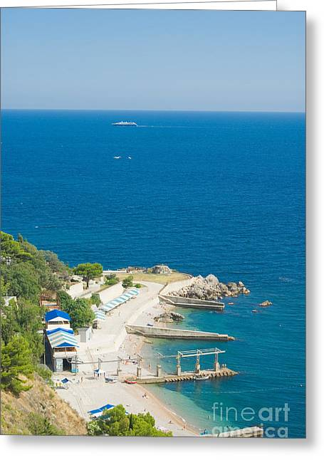 Crimea Landscape Greeting Card by Boon Mee