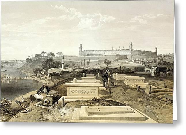 Crimean War Cemetery Greeting Card