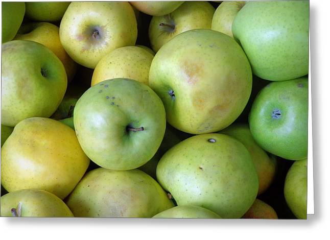 Crispin Apples Greeting Card