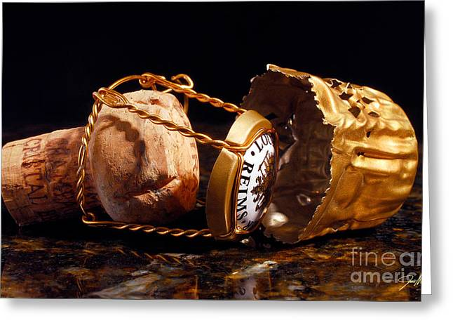 Cristal Cork Granite Greeting Card by Jon Neidert