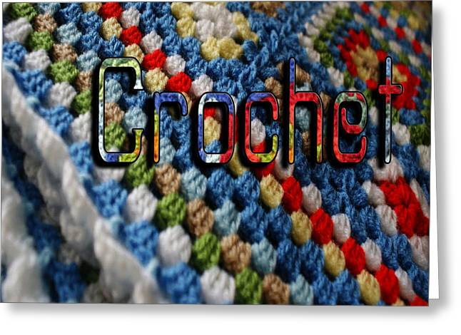 Crochet Greeting Card by Megan Dirsa-DuBois