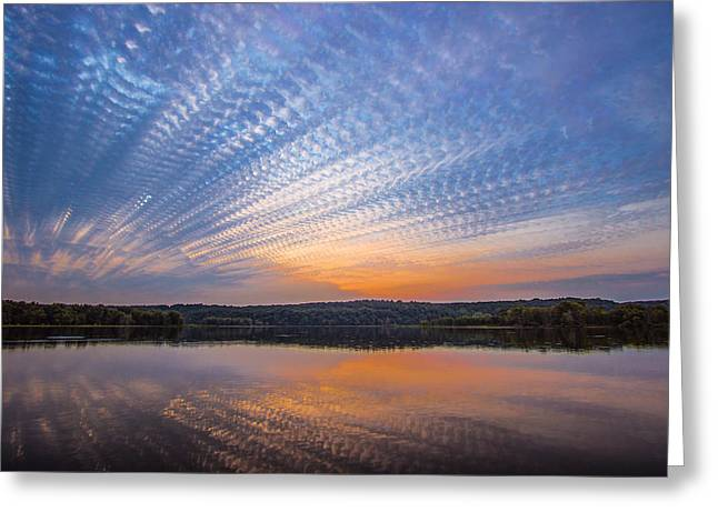 Greeting Card featuring the photograph Crochet The Sky by Adam Mateo Fierro