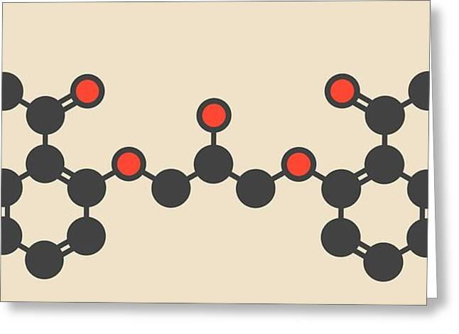 Cromoglicic Acid Drug Molecule Greeting Card