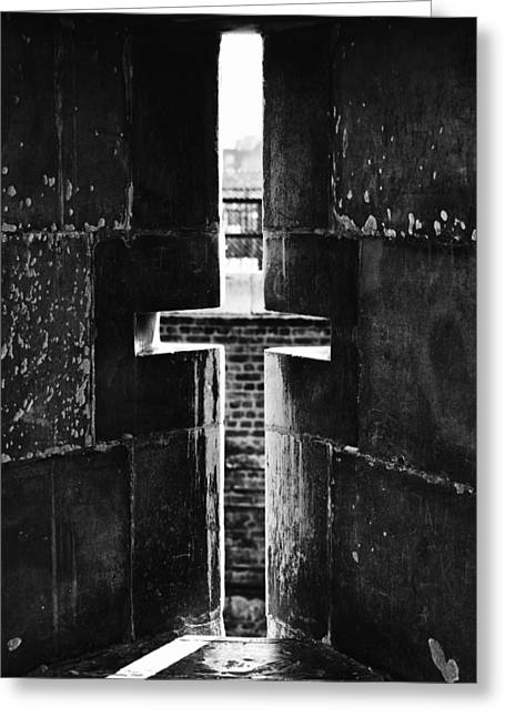 Cross At Tower Hill Greeting Card