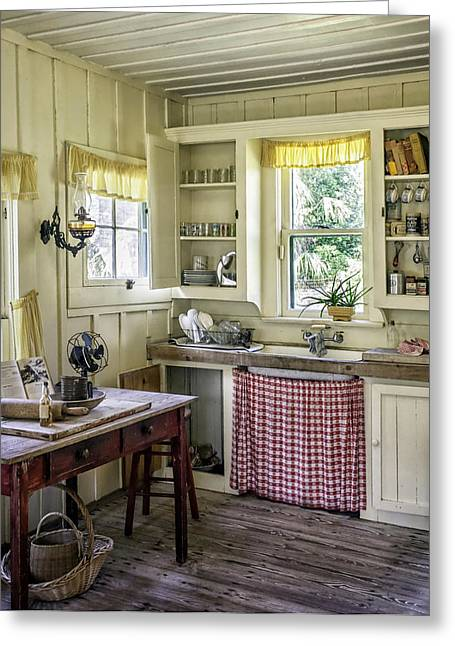 Cross Creek Country Kitchen Greeting Card