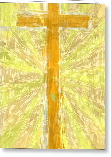 Cross Of The Son Greeting Card