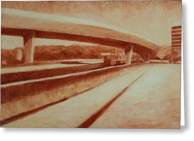 Crossroads Greeting Card by Jeff Levitch