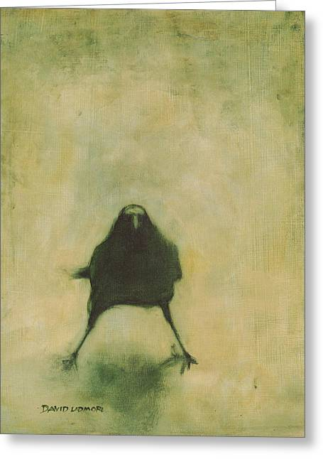 Crow 6 Greeting Card