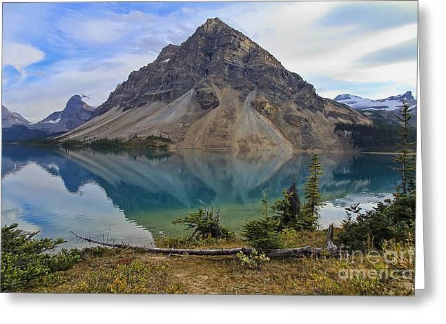 Crowfoot Mountain Banff Np Greeting Card