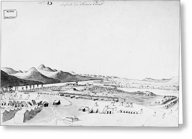 Crown Point, 1760 Greeting Card