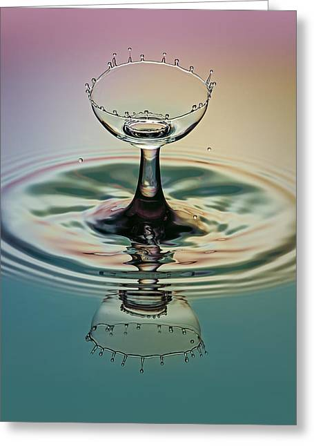 Crowning The Goblet Greeting Card by Susan Candelario