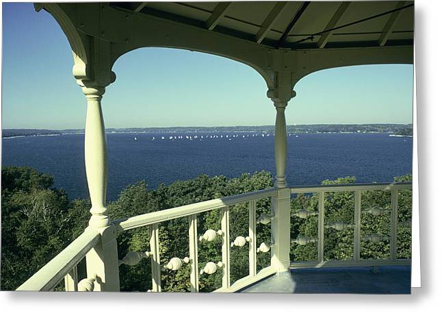 Crows Nest - Lake Geneva Wisconsin Greeting Card