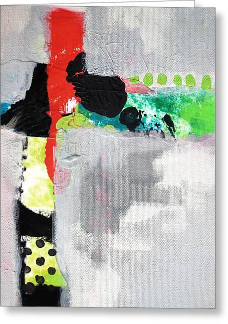 Cruciform 4 Greeting Card by Nancy Merkle