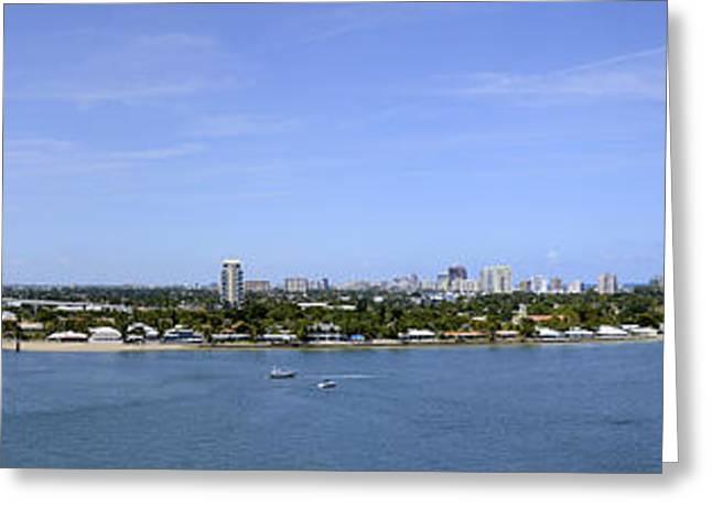 Cruising Fort Lauderdale Greeting Card