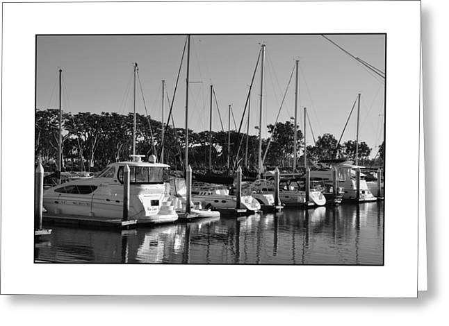Greeting Card featuring the digital art Cruising San Diego Style by Kirt Tisdale