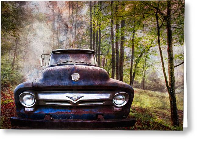 Cruising The Back Roads Greeting Card
