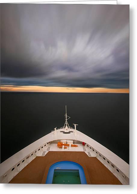 Cruising The Baltic Mg2212 Greeting Card