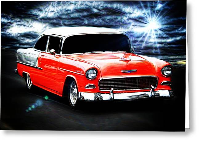 Vehicles Greeting Card featuring the photograph Cruze'n  by Aaron Berg