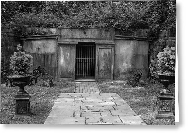 Crypt At Belle Meade Mansion Greeting Card by Robert Hebert