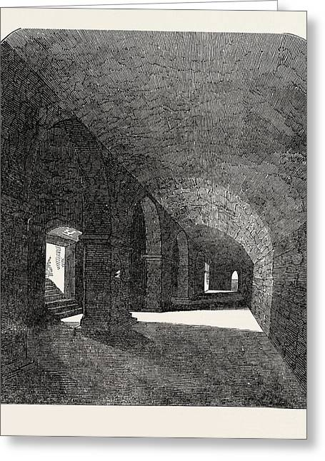 Crypt Discovered Under The Deanery House Greeting Card